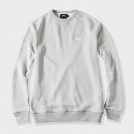 Big Loop L/S Crew Grey
