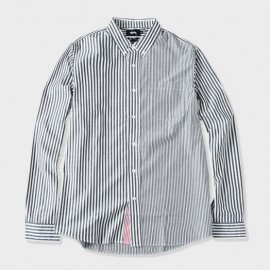 Multi Stripe Shirt Black