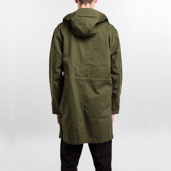 Hooded Military Jacket