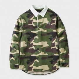Twill Rugby Shirt Camo