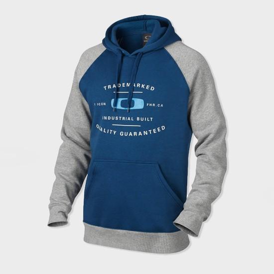 Trademarked Hoodie Dark Blue