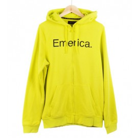 Pure Solid Pullover Fleece Lime