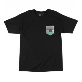 S. West PKT Tee Black