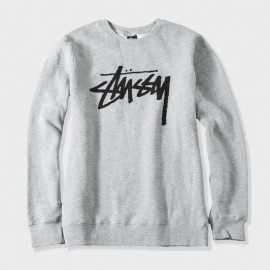 Stock Crew Grey Heather