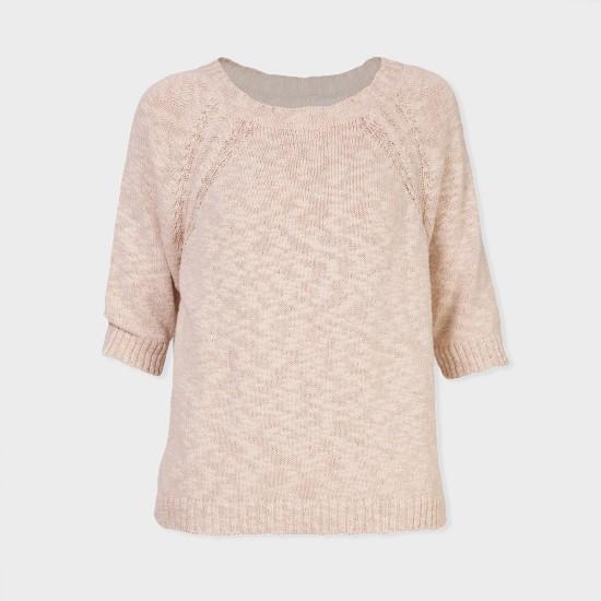 Udare Knit Sweater Ecru