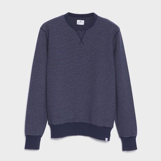 Martxelo Sweatshirt Navy Ecru