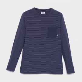 Martxelo T-Shirt Navy Ecru