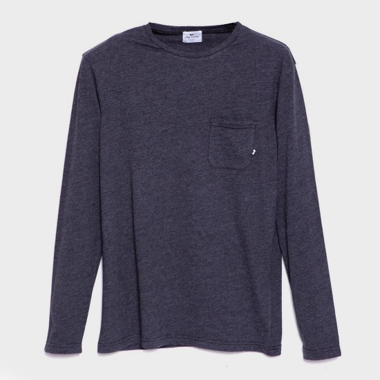 Guethary L/S T-Shirt Heahter Black
