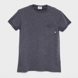 Guethary S/S T-Shirt Heather Black