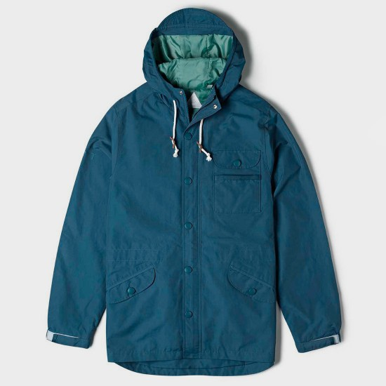 Wind Throw Jacket Pacific Blue