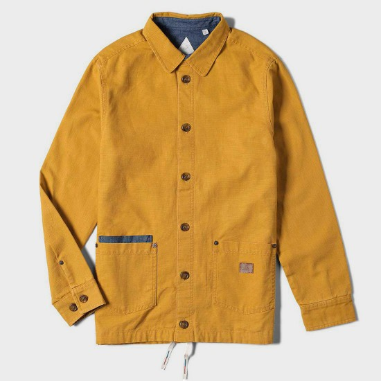 Salman Shirt Jacket Gold