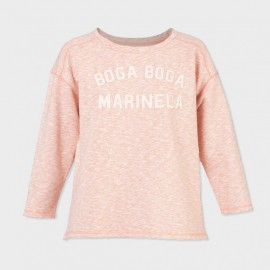Boga Boga Sweatshirt Salmon Heather