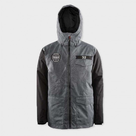 Sesh Jacket Stain Black