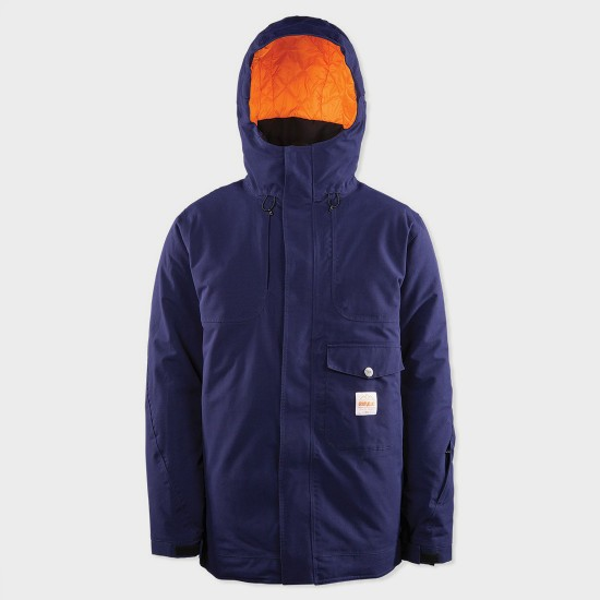 Holcomb Jacket Indigo