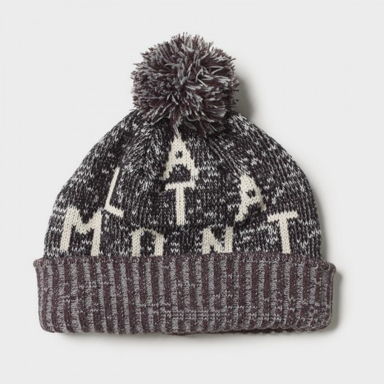 Source Pom Beanie Grey Heather