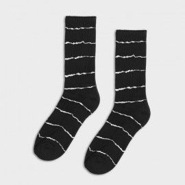 Skunky Foot Socks Black