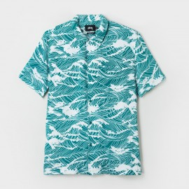 Waves Shirt Teal