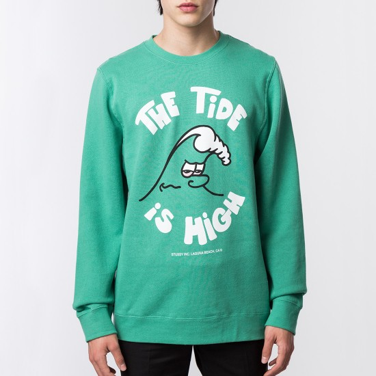 High Tide Crew Green