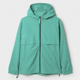 Light Nylon Full Zip Aqua Aqua