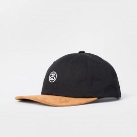 Mini SS Suede Visor Cap Black