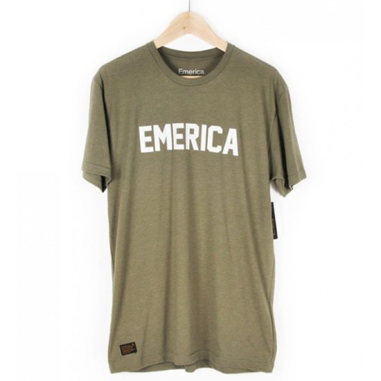 Tri Blend Stand Issue Tee Olive