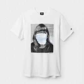 Tomoo Girl Pocket Tee White