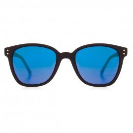 Renee Black Rubber Blue