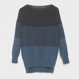 Rothko Knit Sweater Sciarada Blue