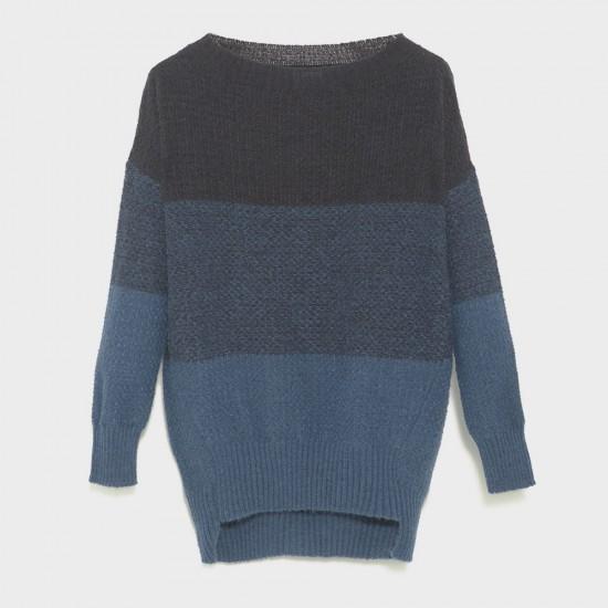 Rothko Knit Sweater Sciarada Blue