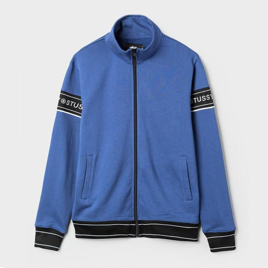 Pierre Track Jacket Blue