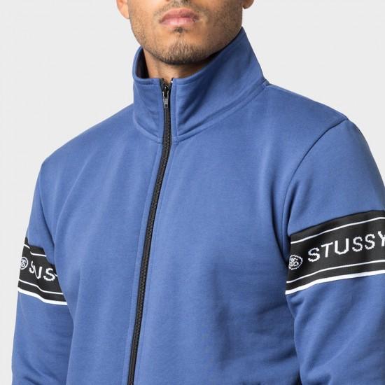 Pierre Track Jacket Blue