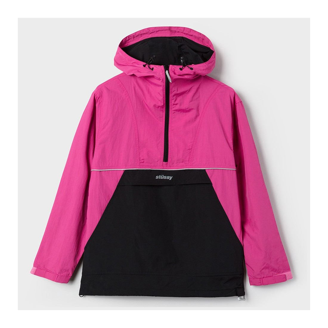 reflective sports pullover berry