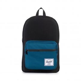 Pop Quiz Backpack Black Ink Blue