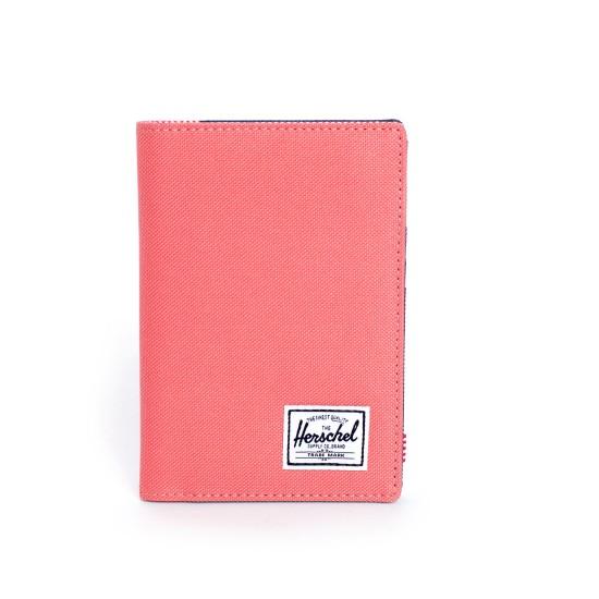 Raynor Passport Holder Navy Flamingo