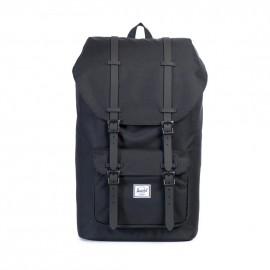 Little America Backpack Black/Black Rubber