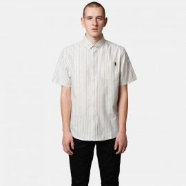 Frith SS Woven Dirty White