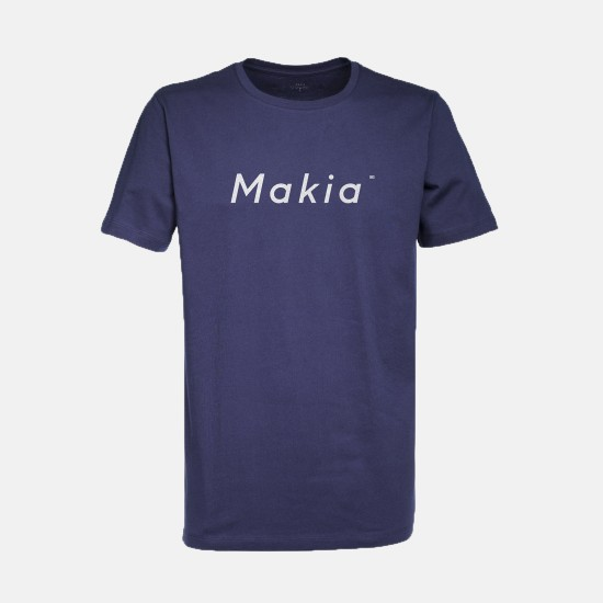 Italic T-Shirt Navy