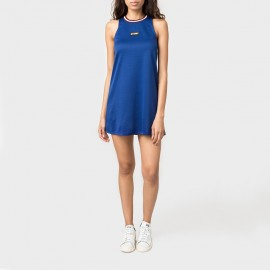 Magnolia A Line Dress Blue