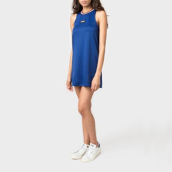 Magnolia A Line Dress Blue