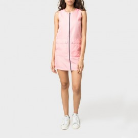 Jamboree Ripstop Dress Coral