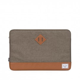 "Heritage Sleeve MacBook 15"" Canteen Crosshatch/Tan Synthetic Leather"