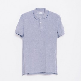 Ibardin Polo Heather Navy