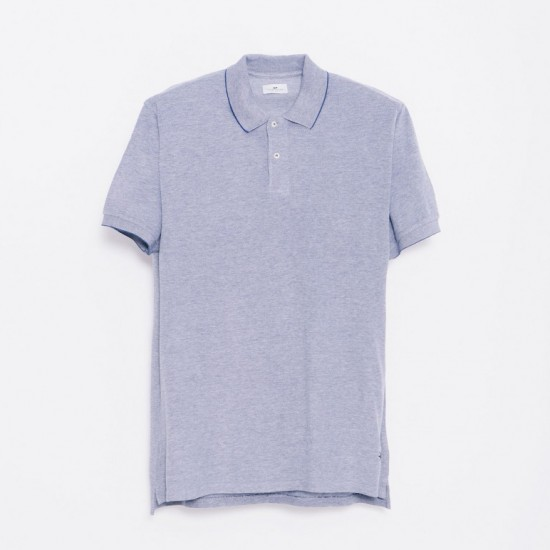 Polo Ibardin Heather Navy