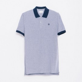 Ilbarritz Polo Heather Navy