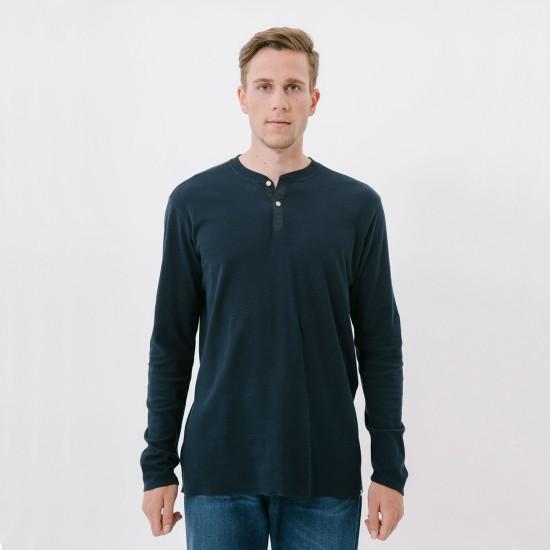 Permiso L/S T-Shirt Navy