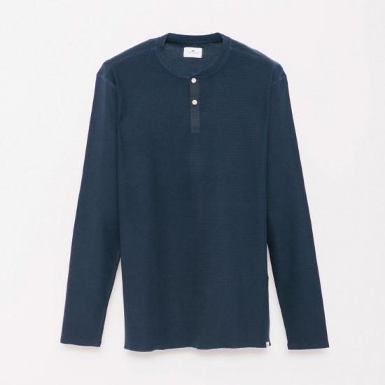 Camiseta M/L Permiso Navy