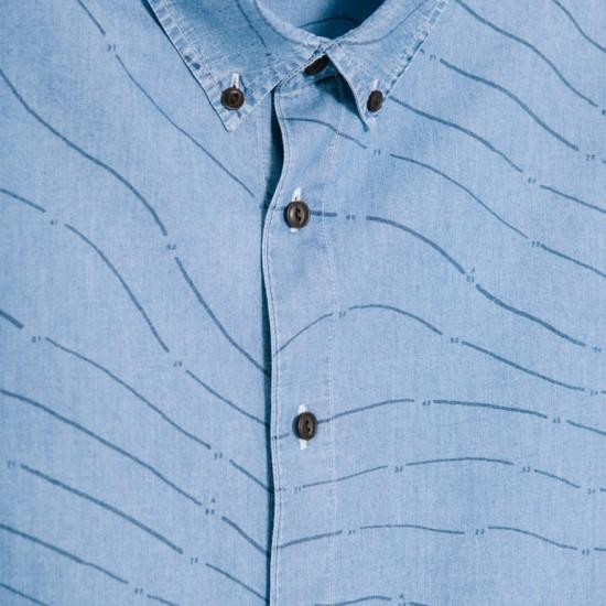 Camisa M/L Carto Indigo