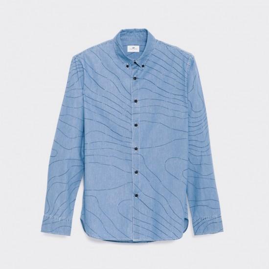 Carto L/S Shirt Indigo