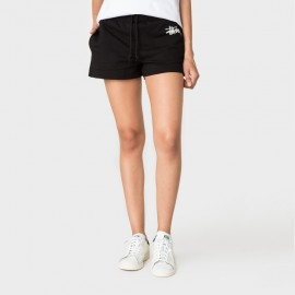 Basic Stussy Gym Short Black