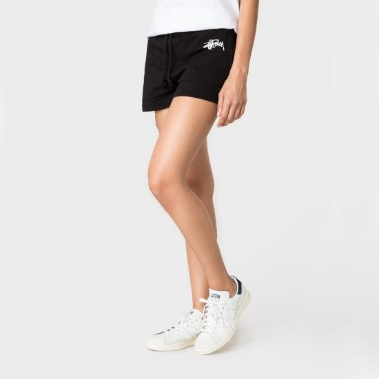 Basic Stussy Gym Short Black
